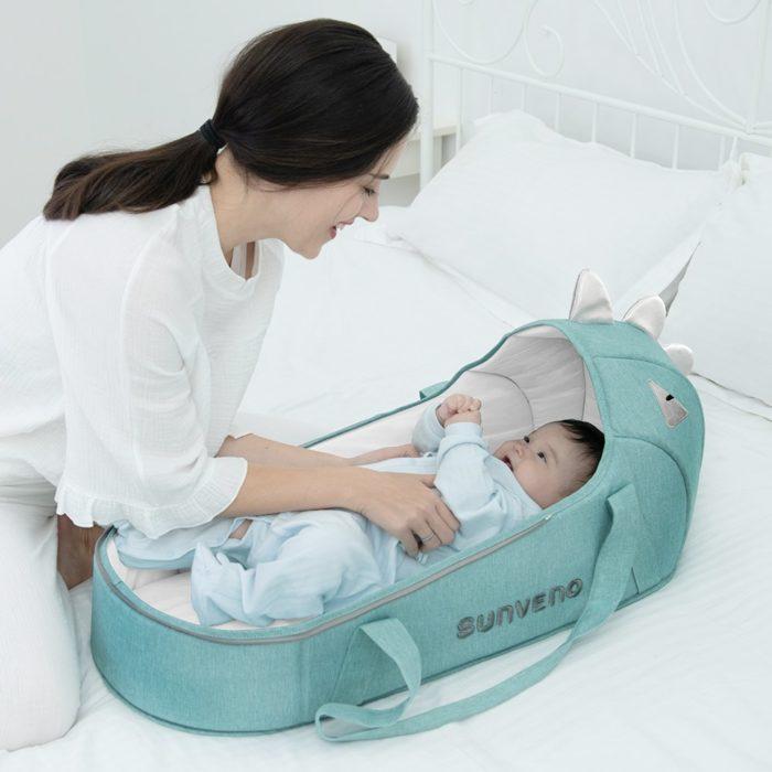 Portable Baby Bassinet Travel Bed Crib