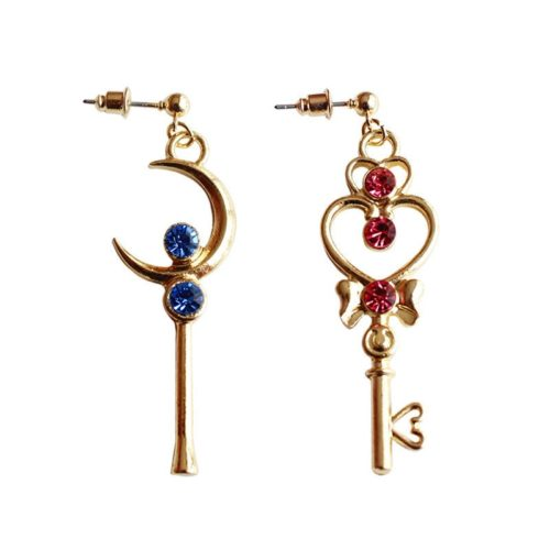 Sailor Moon Earrings 1 Pair Accessory