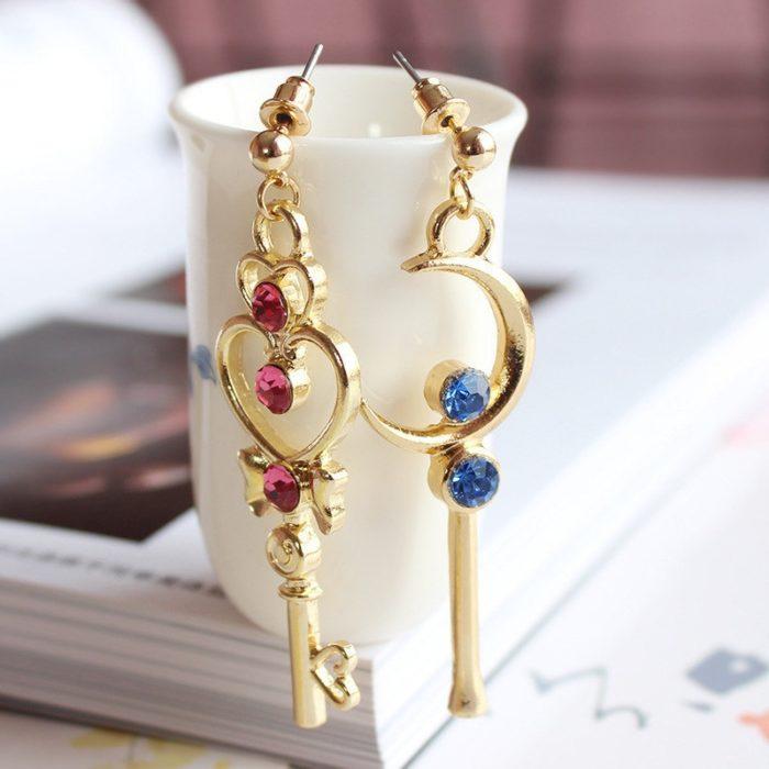 Sailor Moon Earrings 1 Pair Accessory