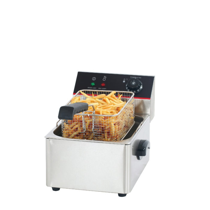 Electric Deep Fryer Stainless Steel