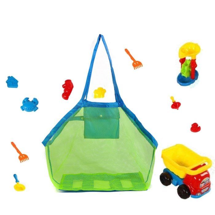 Mesh Beach Bag Kids Net Toy Bag