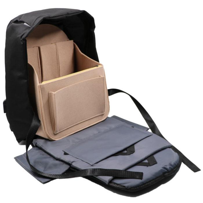 Backpack Organizer Travel Bag Insert
