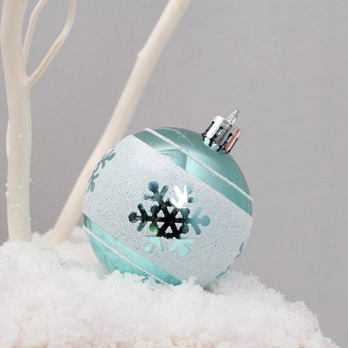 Christmas Ball Ornaments Blue Christmas Balls