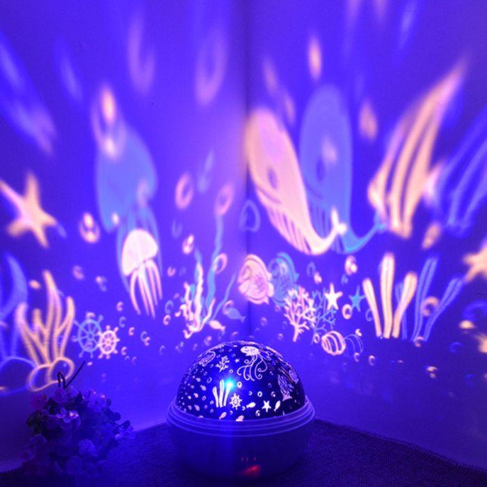 Baby Night Light Projector LED Lamp