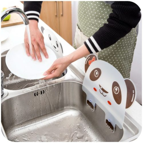 Sink Splash Guard with Vacuum Suckers