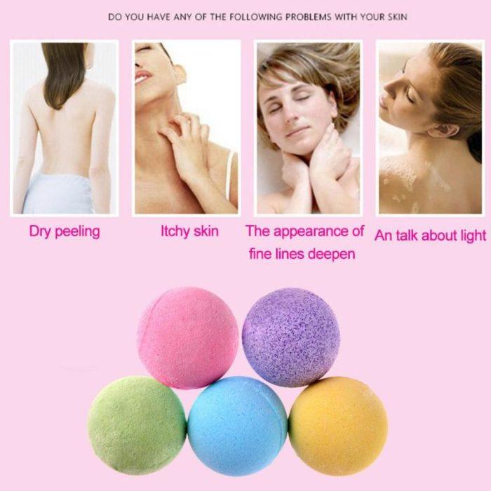 Bath Balls Bubble Shower Bomb
