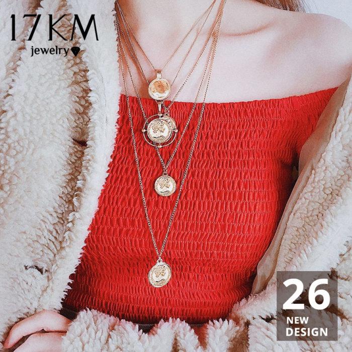 Multi Layered Necklace Fashion Accessory