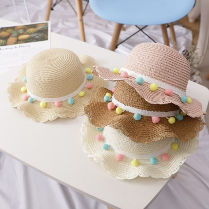 Girls Sun Hat and Shoulder Bag Set