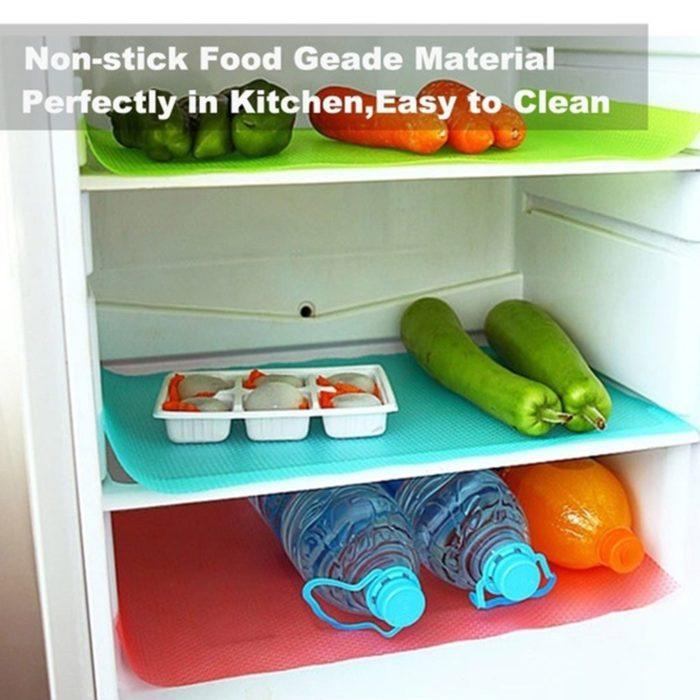 Refrigerator Mats Waterproof 4PC Set