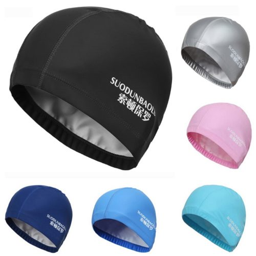 Swimming Cap Elastic Sport Swim Hat