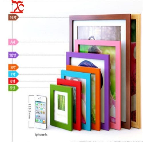 Wooden Picture Frame Wall Photo