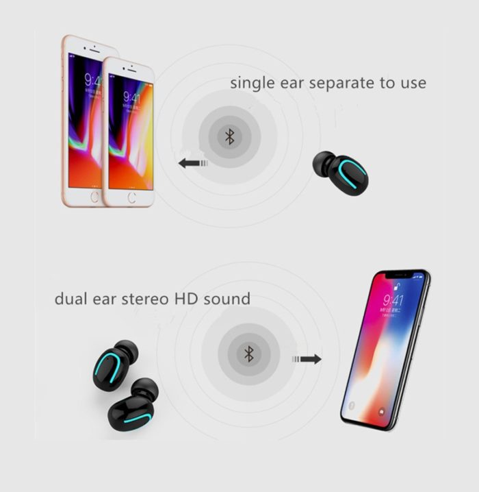 Mini Bluetooth Earphone Wireless Earbud