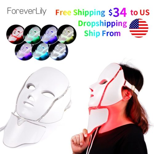 LED Light Therapy Mask Beautifying Tool