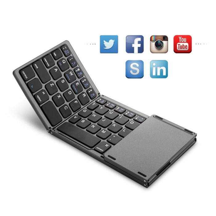 Folding Keyboard for Android Devices