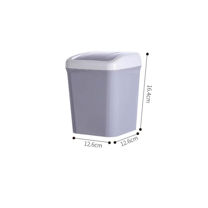 Mini Trash Can Table Dust Bin