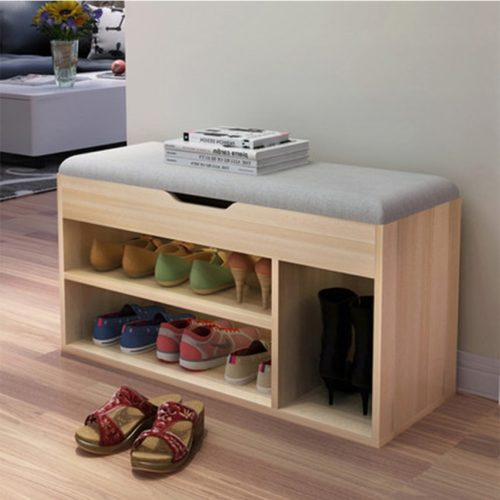 Shoe Storage Bench Versatile Organizer