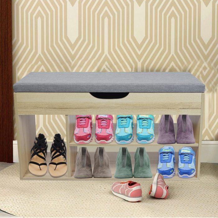 Shoe Storage Bench Versatile Organizer