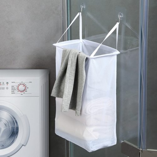 Hanging Laundry Bag Clothing Basket