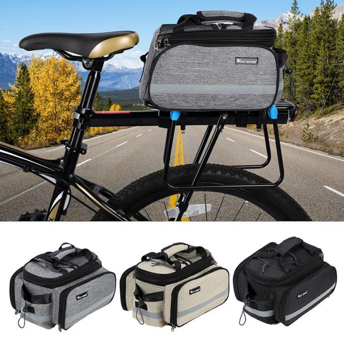 Bike Rack Bag Large Trunk Bag
