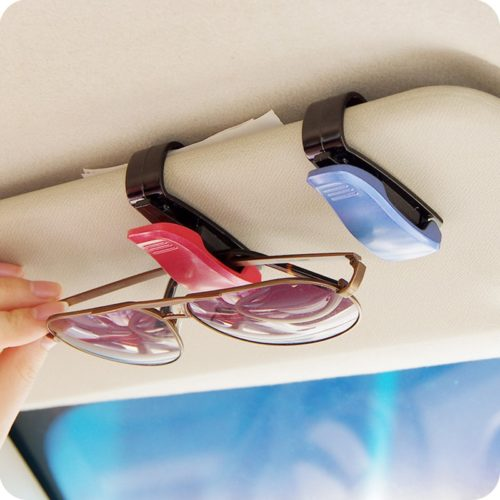 Sunglass Holder for Car Visor Clip