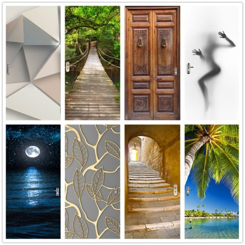 Door Decal Landscape Door Sticker