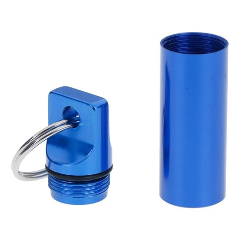 Keychain Pill Holder Waterproof Case
