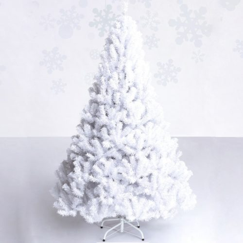 White Christmas Tree Holiday Decor