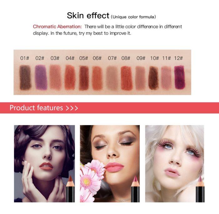 Lip Liner Matte Makeup Lip Pencil