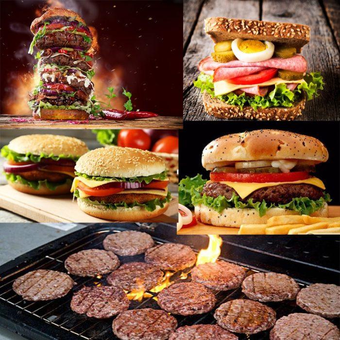 Burger Patty Maker Mold Press