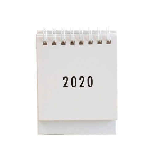 Table Calendar For The Year 2020