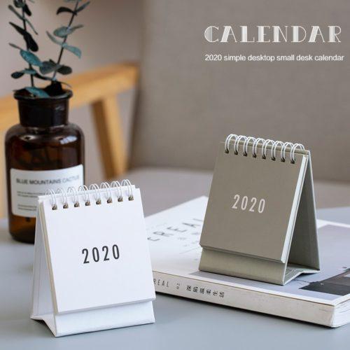 Table Calendar For The Year 2020