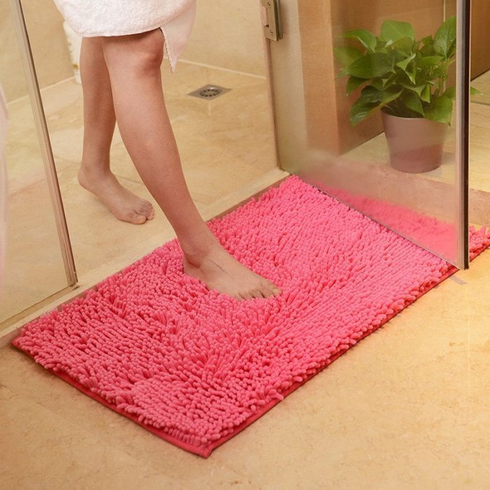 Anti Slip Bathroom Mat Floor Rug