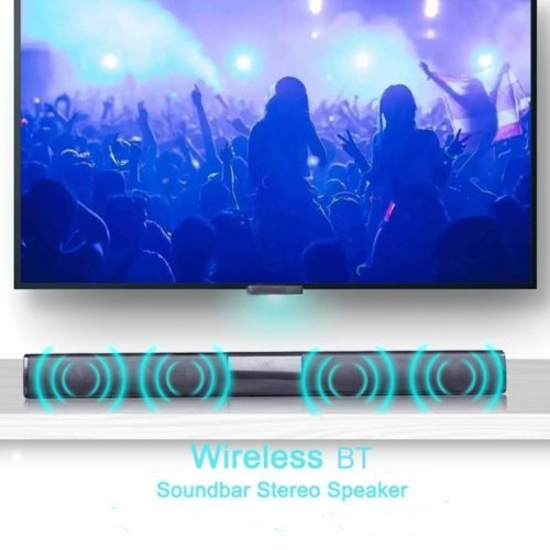 Bluetooth Soundbar For TV Wireless Speaker