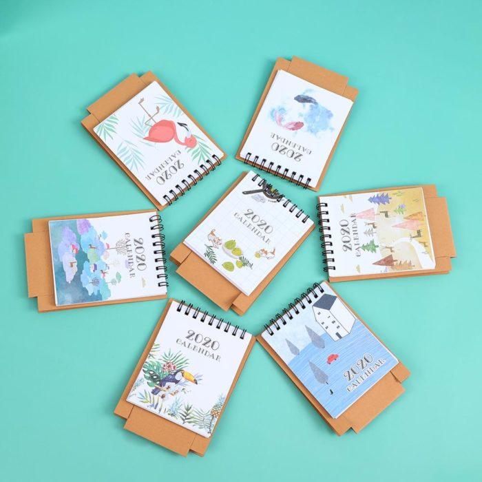 Desk Planner Mini 2020 Calendar