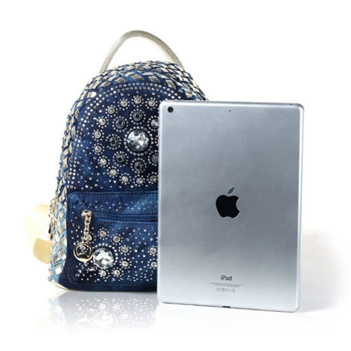Denim Bag Stylish Backpack