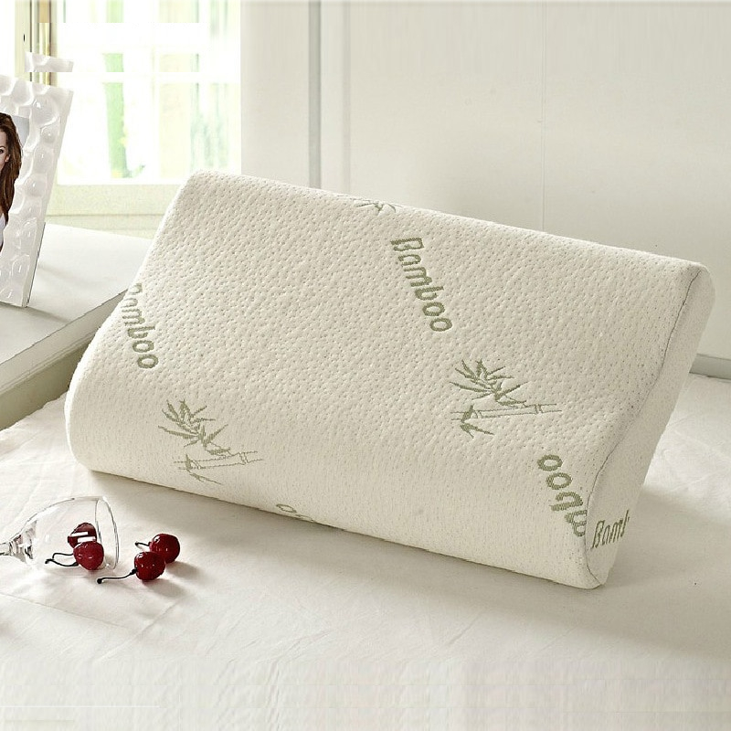 The ergonomic memory foam bamboo pillow