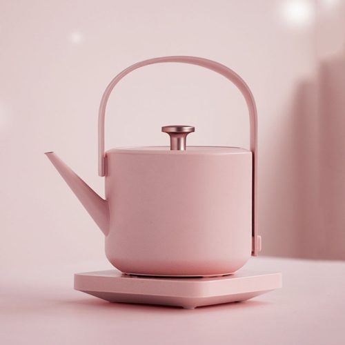 Stainless Steel Tea Kettle Retro Style