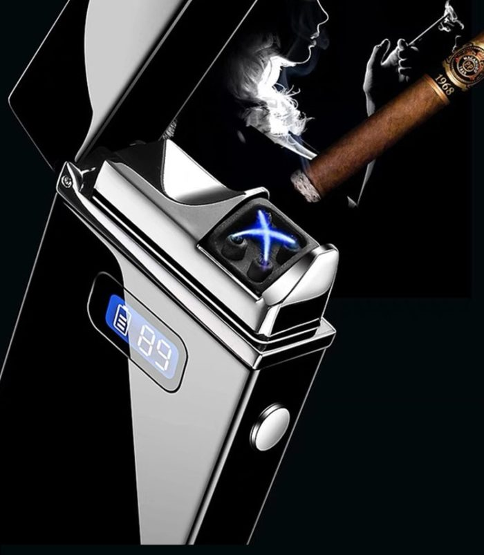Electric Cigarette Lighter with LED Display