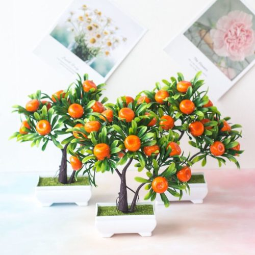 Artificial Potted Plant Mini Orange Tree