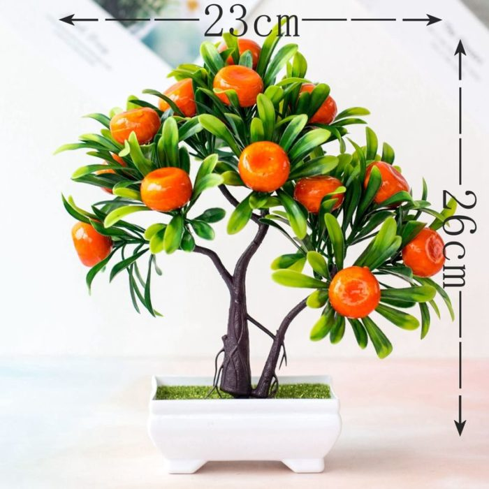 Artificial Potted Plant Mini Orange Tree