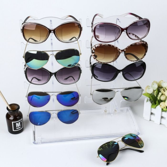 Sunglasses Rack 10-Pair Capacity