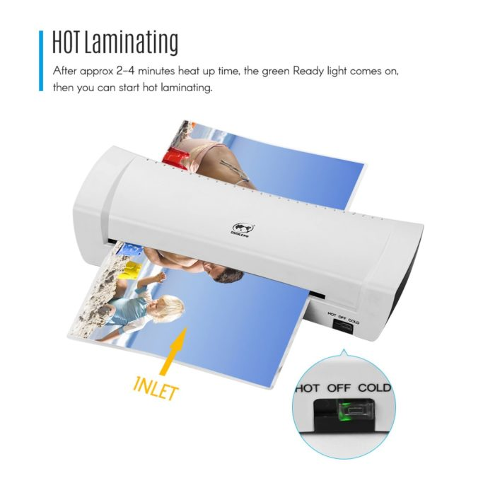 Thermal Laminator A4 Electric Device