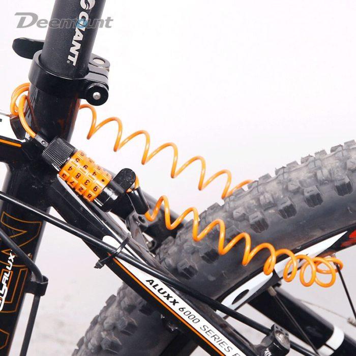 Combination Bike Lock Portable Bicycle Lock