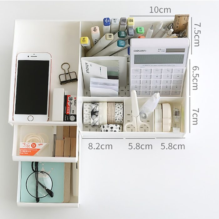 Dressing Table Organizer Storage Container