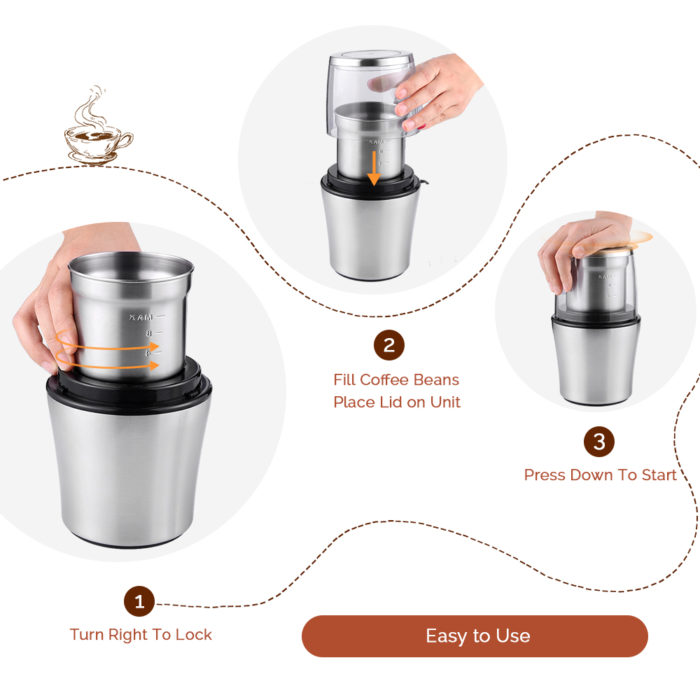 Electric Spice Grinder Kitchen Tool