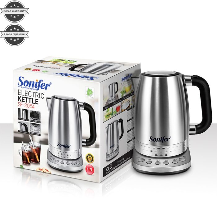 Electric Kettle With Temperature Control 1.7Liters