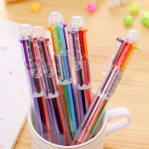 Multicolor Pen Ballpoint School Supply
