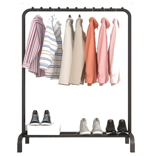 Metal Clothes Rack Floor Standing Frame