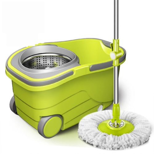 This spin mop bucket is what you need to make mopping the floor easier and actually enjoyable. Now, you'll no longer have to strain yourself too much