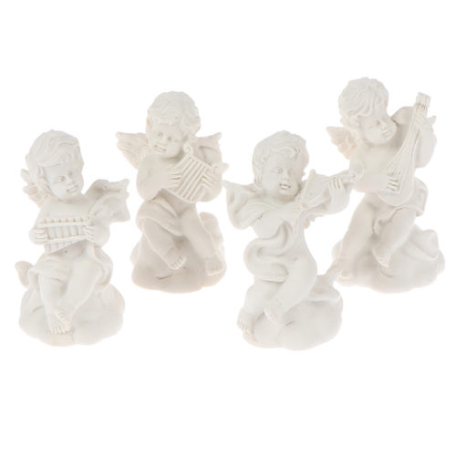 Angel Figurines Mini Decoration 4pcs/set